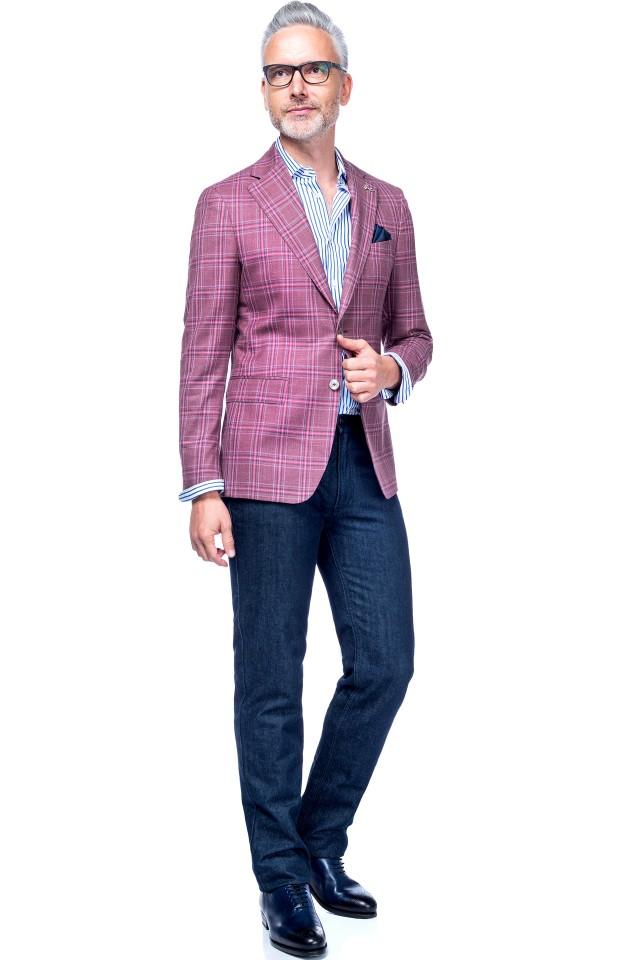 Jeans business casual barbati - Tudor Tailor