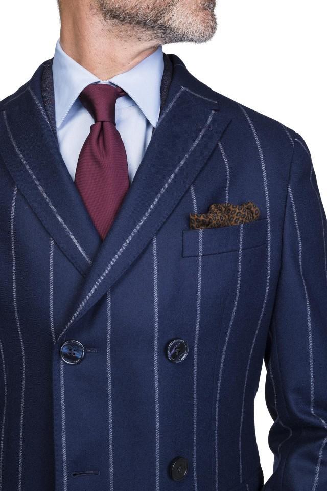Palton de bărbați albastru business