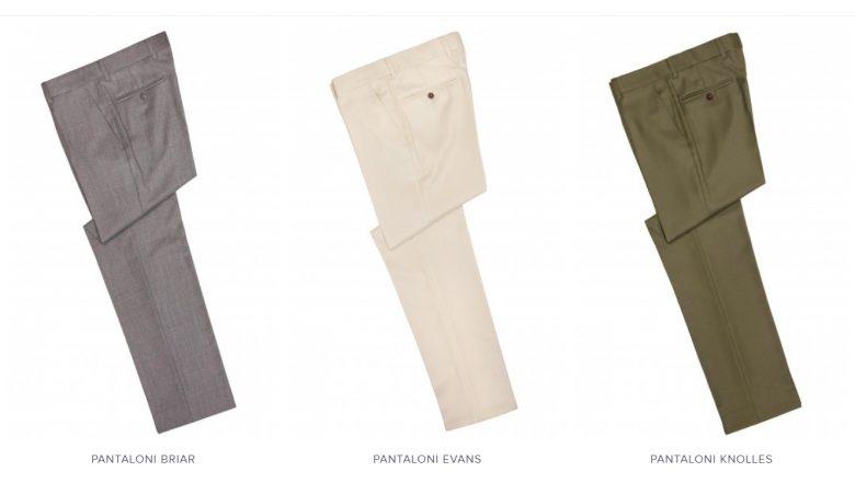 Pantaloni business casual eleganti pentru barbati Tudor Tailor
