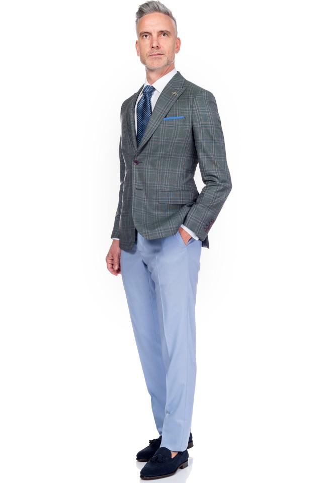 Pantaloni casual pentru barbati tip chino