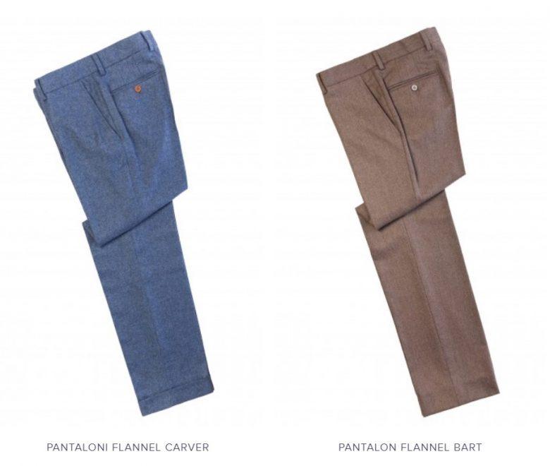 Pantaloni flannel business casual pentru barbati Tudor Tailor