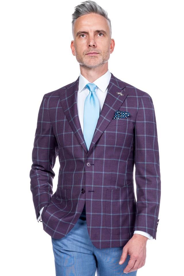 Sacou business casual pentru barbati Tudor Tailor