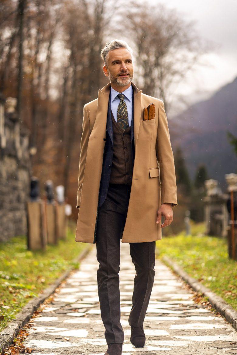 Palton de toamna pentru barbati
