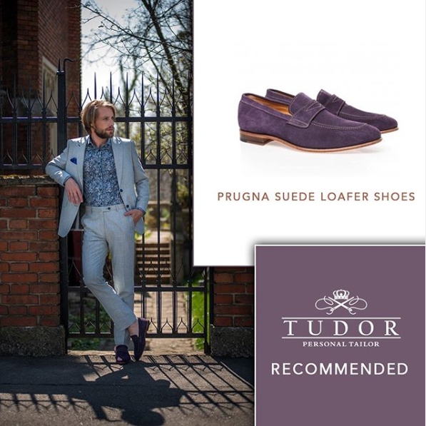 colored suede loafers for men