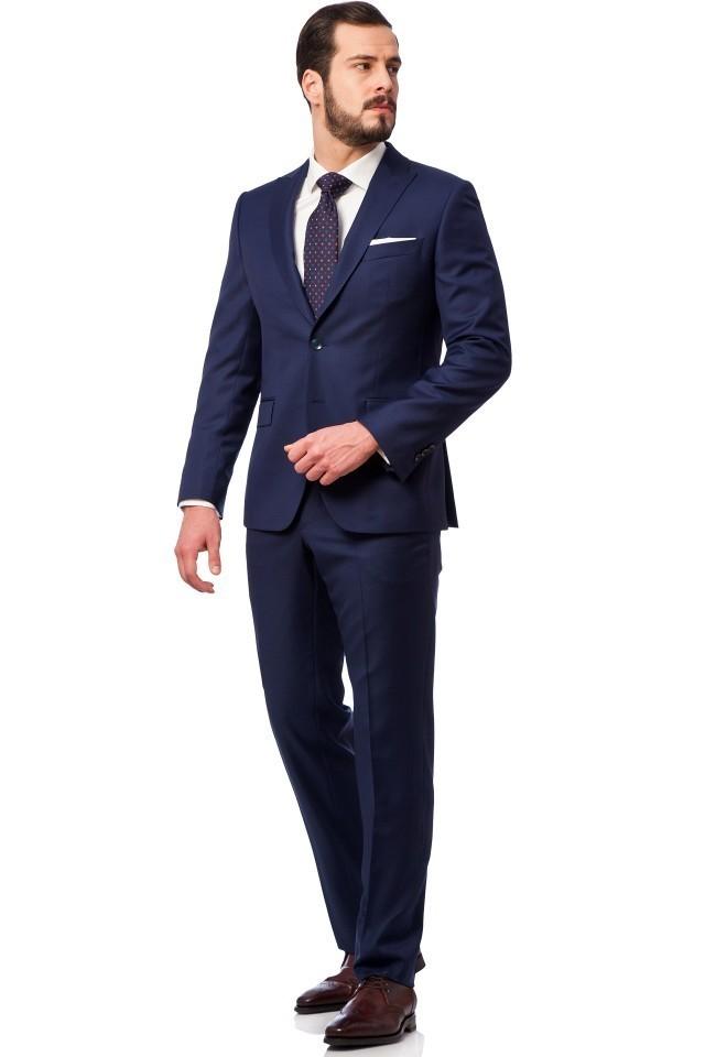 costum bleumarin clasic
