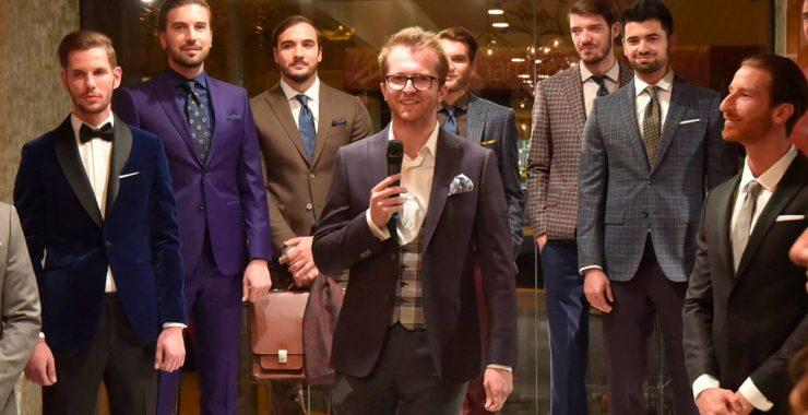 Tudor Tailor lanseaza colectia de costume barbatesti pe masura Fusion Art