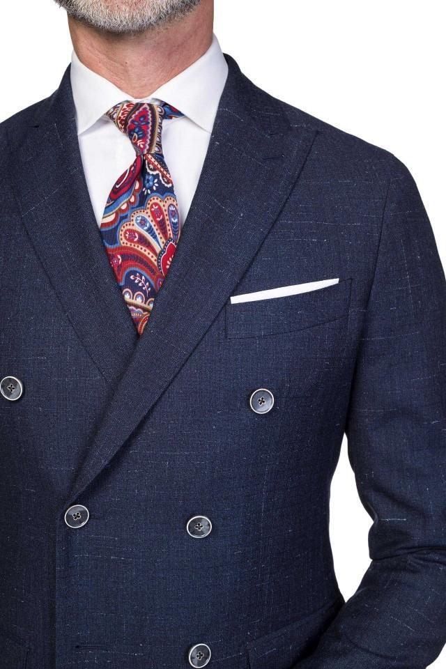 cravata cu imprimeu colorat