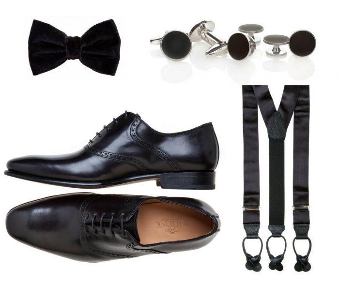 accessori si pantofi black tie