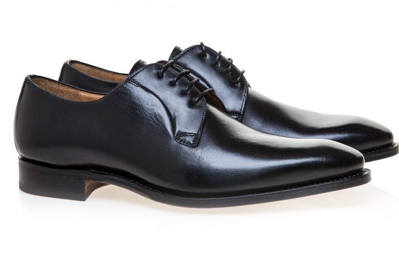 dress code back tie pantofi piele neagră