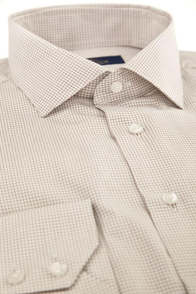 cămașă casual cu imprimeu discret