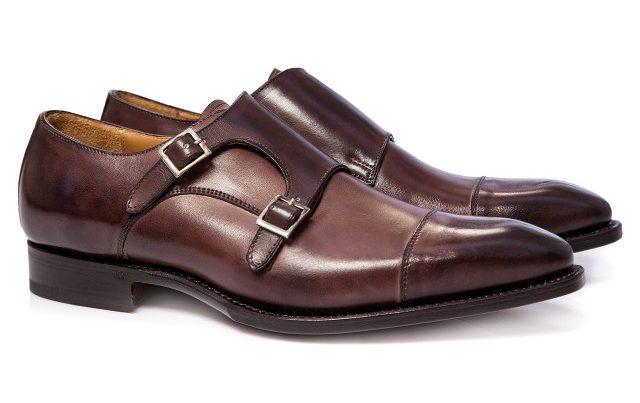 pantofi barbatesti double monk maro