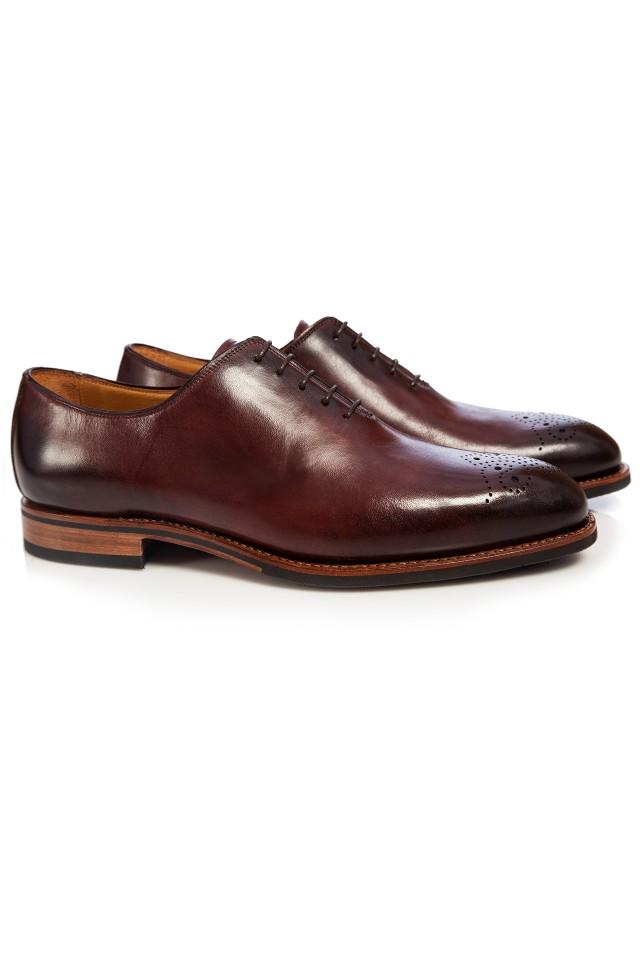 pantofi quarter brogue pentru bărbați