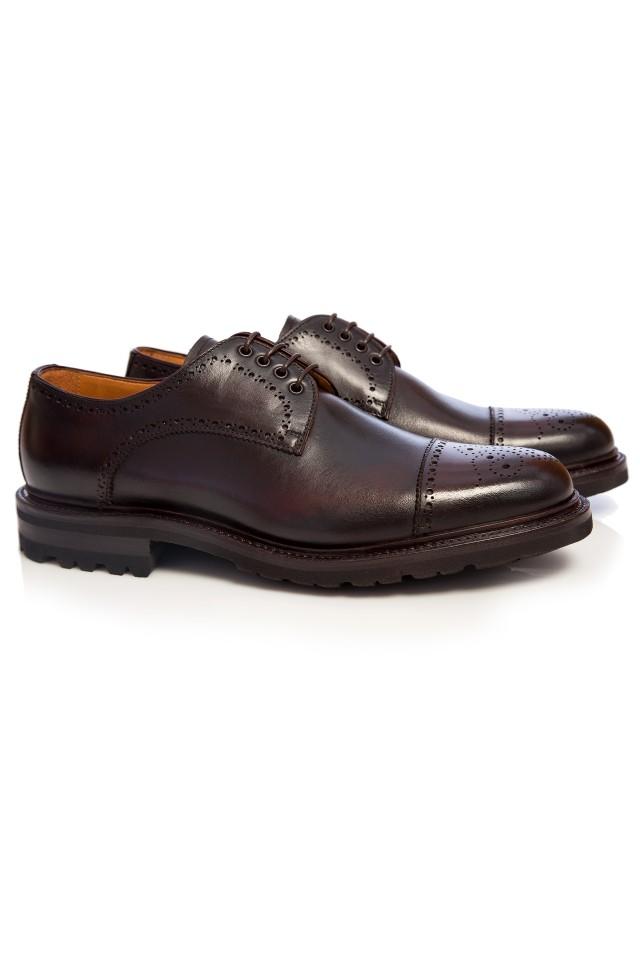 pantofi semi brogue pentru barbati