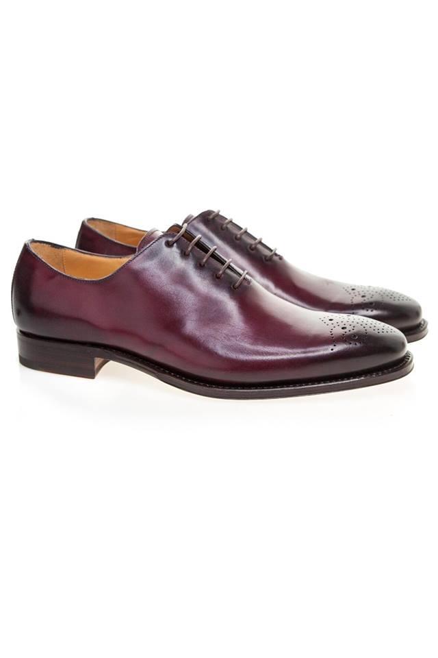 pantofi whole-cut pentru barbati