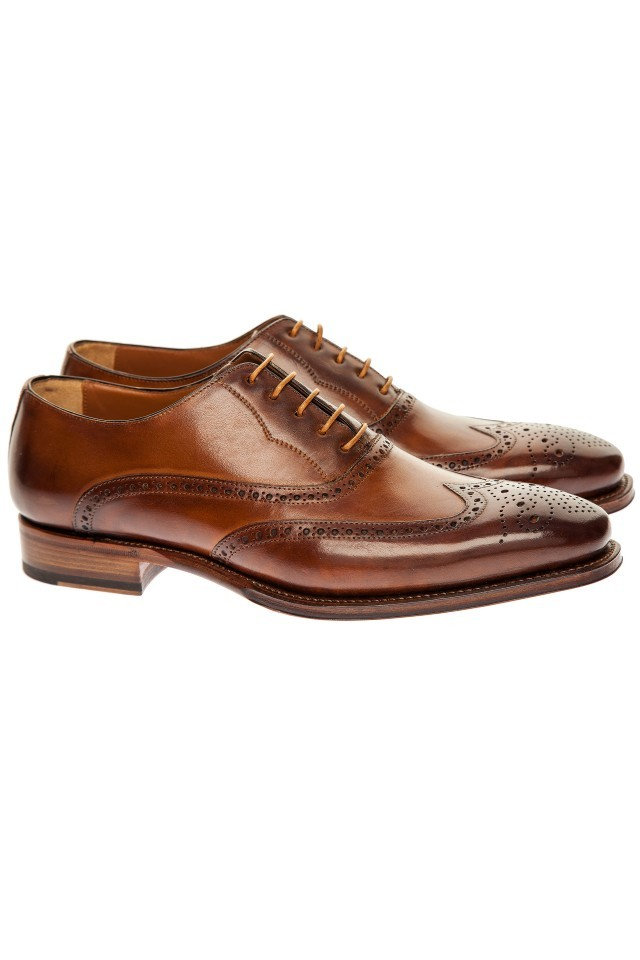pantofi oxford wingtip pentru barbati