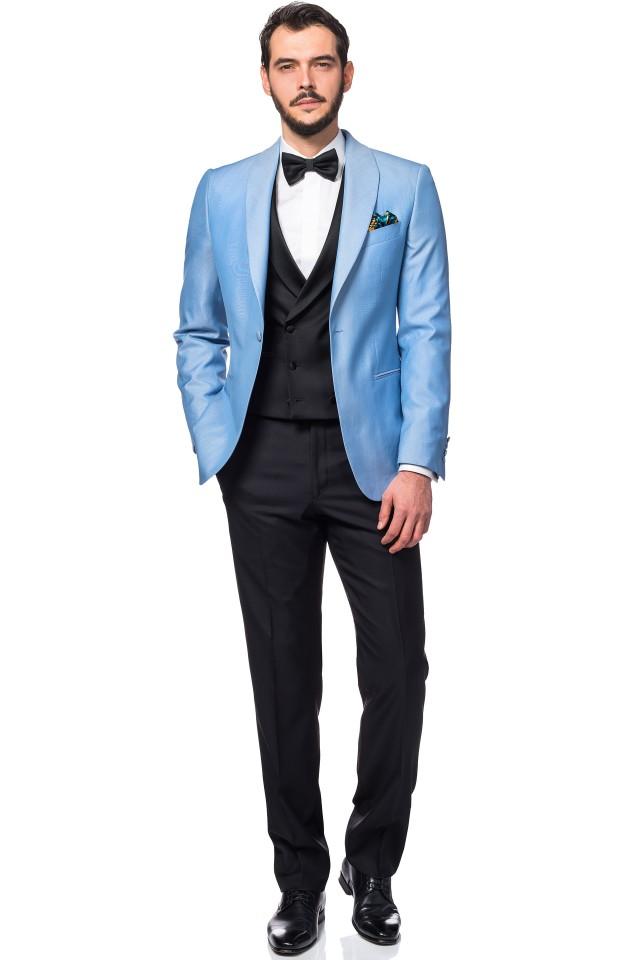 silk blend wedding suit