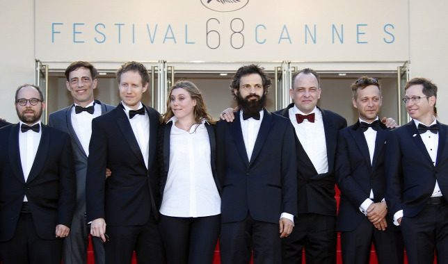 Tudor Personal Tailor pe covorul rosu de la Cannes