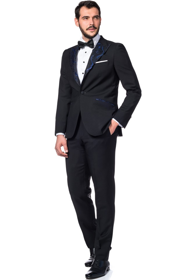 wool and mohair blend wedding suit